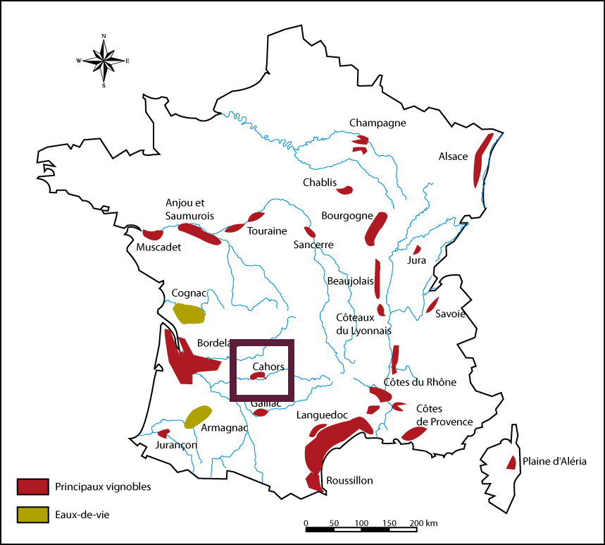 Educating mumu the black wine of cahors for Champagne region in france